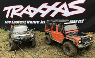 Traxxas Goes To Beat The Creek! [VIDEO]